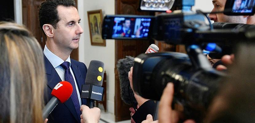"""Syrie : un responsable turc estime """"pas réaliste"""" d'exclure Assad d'un règlement du conflit"""