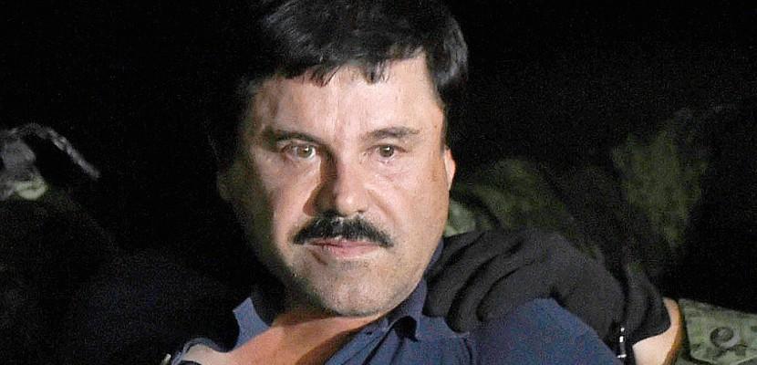 """Le narcotrafiquant """"El Chapo"""" plaide non coupable devant la justice américaine"""