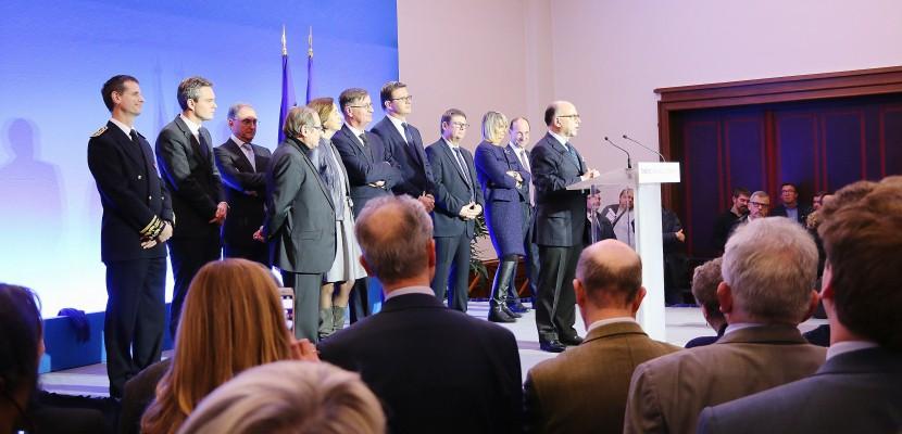 Bernard Cazeneuve à Cherbourg :