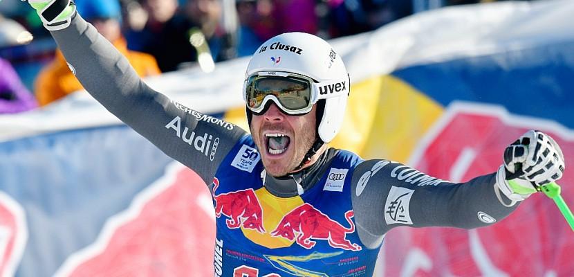 Ski: l'Italien Paris gagne à Kitzbühel devant les Français Giraud-Moine et Clarey