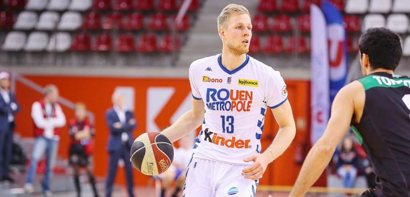 Basket: le Rouen Métropole basket s'impose à Saint-Chamond