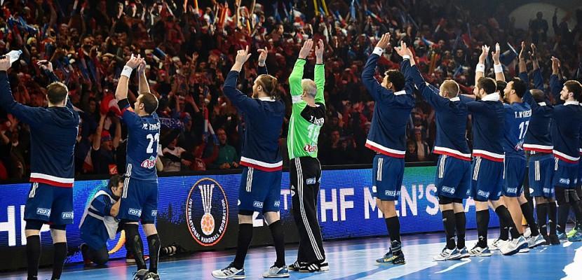 Hand: les Français viennent à bout de l'Islande et filent en quarts du Mondial