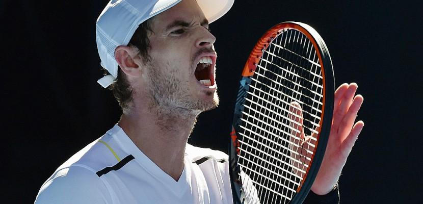 Open d'Australie: Andy Murray éliminé en huitièmes de finale