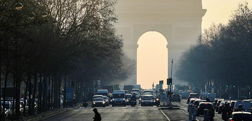 Pollution: la circulation différenciée reconduite mardi et mercredi à Paris
