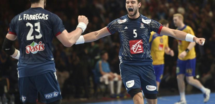 Hand: les Français en demies du Mondial en battant la Suède