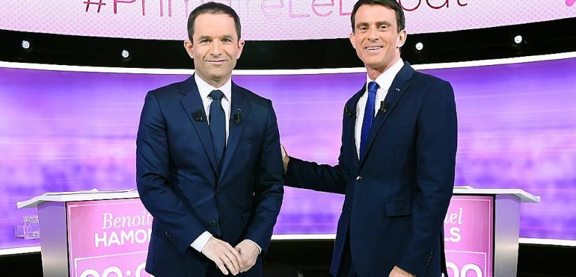 Duel Hamon-Valls: veillée d'armes avant le verdict des urnes