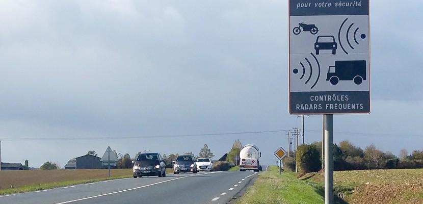Quatre radars mis à double sens dans l'Orne