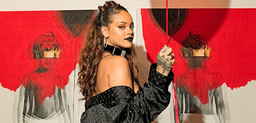 ANTI, l'album de Rihanna continue d'affoler les charts américains