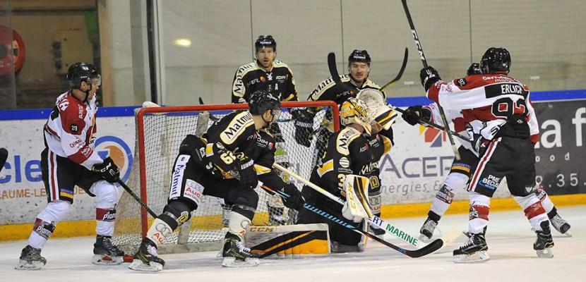 Hockey sur glace: Chamonix/Morzine s'impose face aux Dragons de Rouen