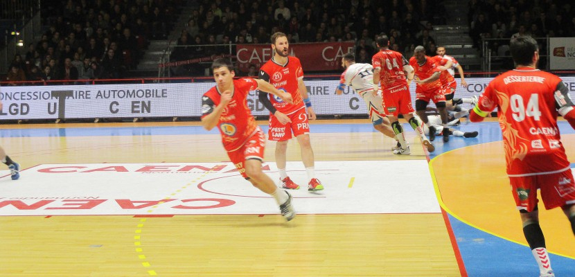 Handball (Proligue) : Caen n'a pas su résister à Chartres (23-24)