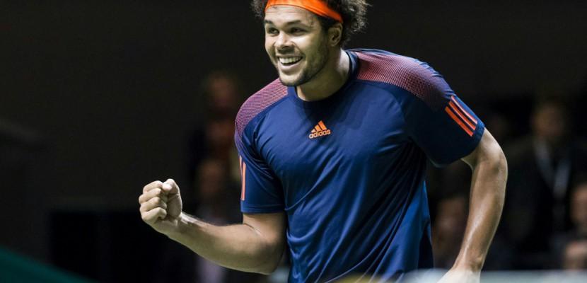 Tennis: Tsonga remporte à Rotterdam le 13e titre de sa carrière