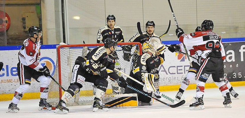 Hockey sur glace : les Dragons de Rouen s'arrêtent au bord de l'exploit