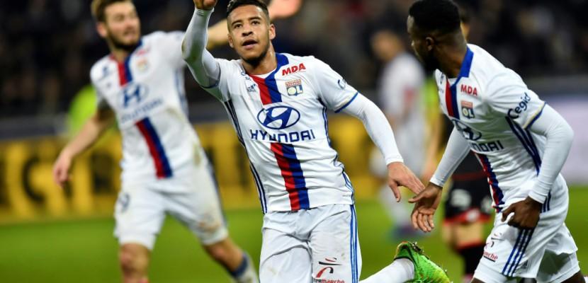 Ligue 1: Lyon renverse Dijon, Saint-Etienne tombe à Montpellier