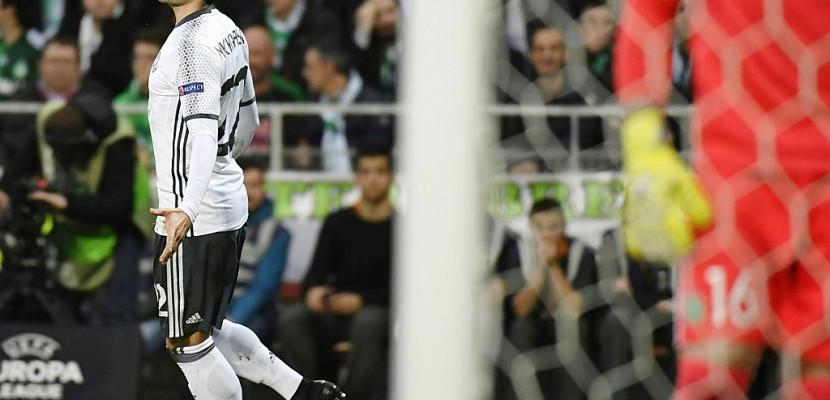 Europa League: Saint-Etienne éliminé en 16e par Manchester United (1-0)