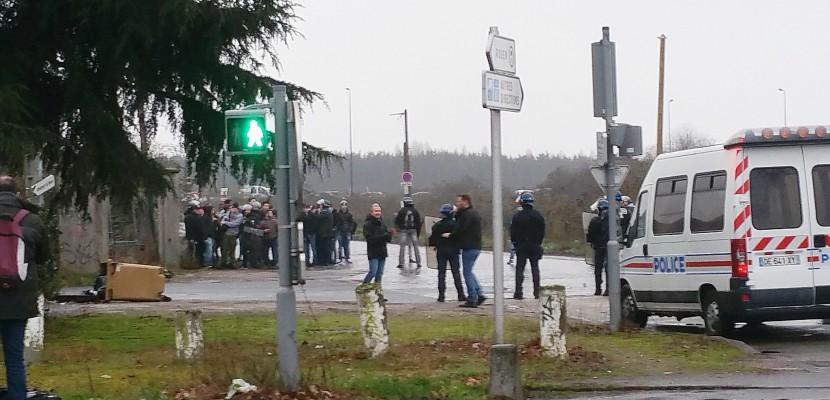 Manifestation contre les violences policières à Rouen : 18 interpellations