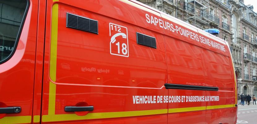 Rouen : accident entre un poids-lourd et une voiture, un mort