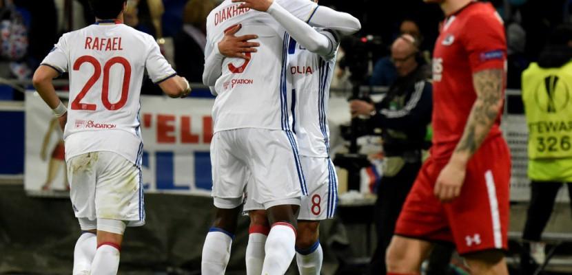 Europa League: Lyon qualifié pour les 8e de finale aux dépens d'Alkmaar (7-1)