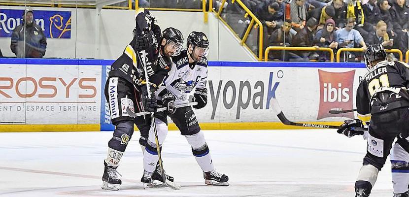 Hockey-sur-glace: duel pour la première place pour les Dragons de Rouen