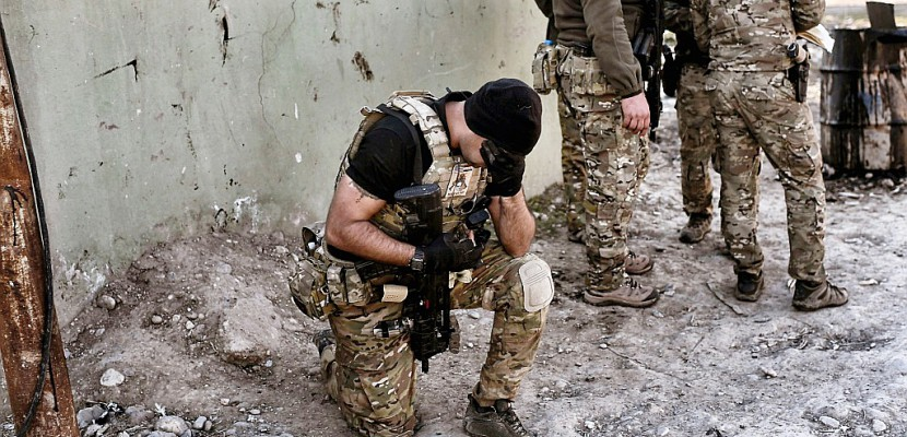 Les troupes irakiennes avancent dans Mossoul