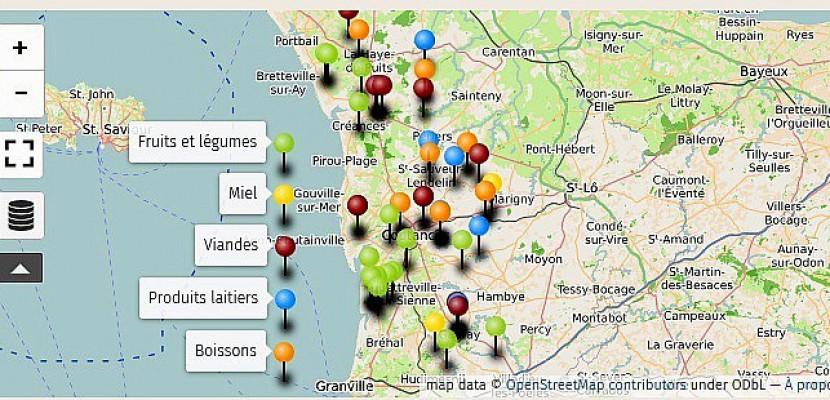Manche : une carte interactive détaille les producteurs en vente directe