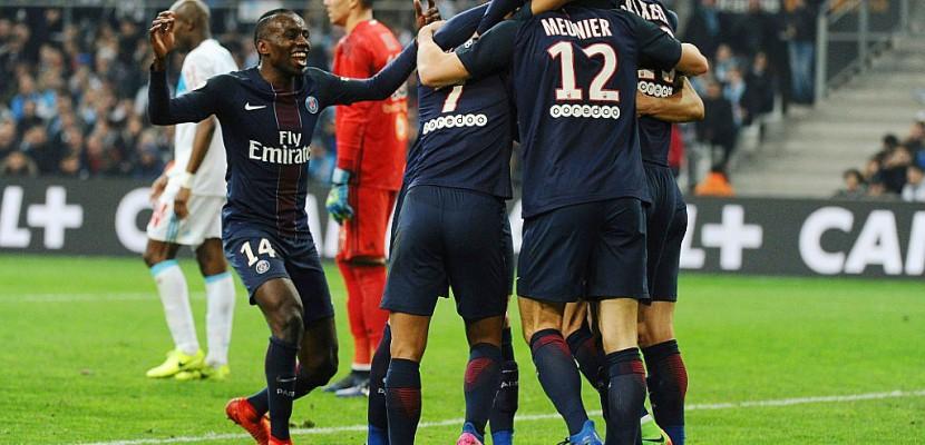 Ligue 1: le Paris SG piétine Marseille et talonne Monaco