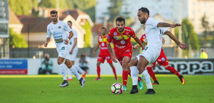 Football: Grosse performance de Quevilly Rouen Métropole à Concarneau