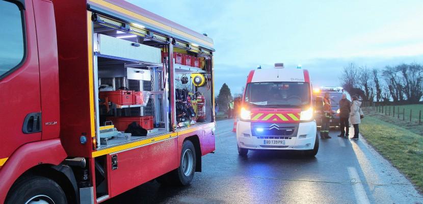 Grêle dans la Manche : accidents en série sur la RN 13