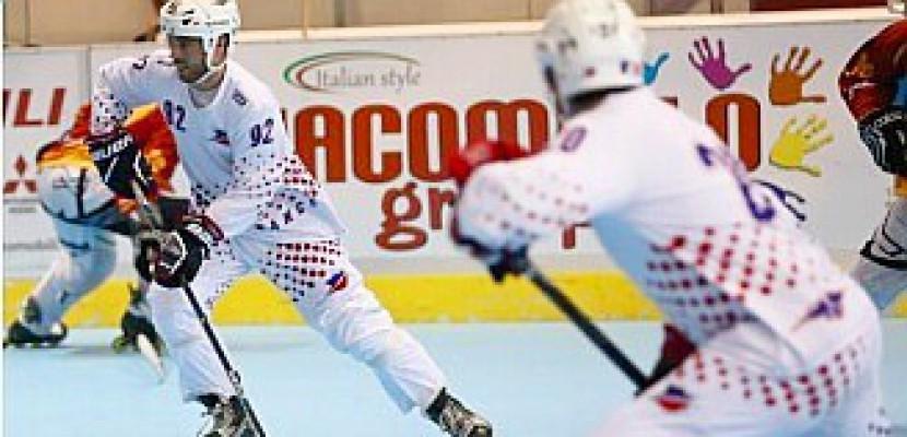 L'équipe de France de roller hockey est à Caen