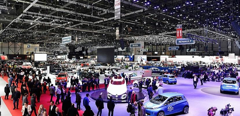 Au salon de Genève, un secteur automobile raisonnablement optimiste