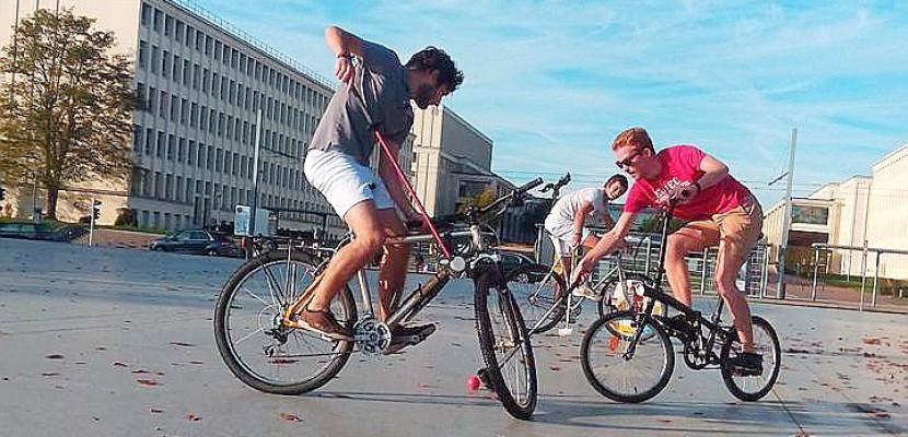 Grand week-end de bike polo à Luc-sur-Mer