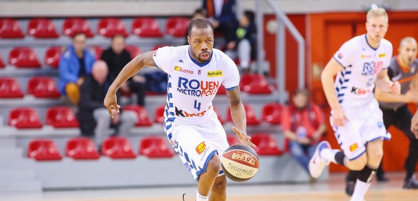 Le Rouen Métropole Basket doit rebondir face à Aix-Maurienne