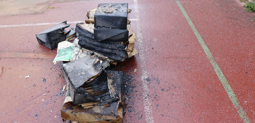 Incendie dans une ancienne école à Cherbourg : la piste criminelle privilégiée