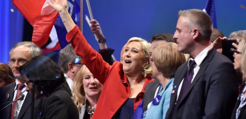 """""""L'Union européenne va mourir"""", se réjouit Marine Le Pen"""