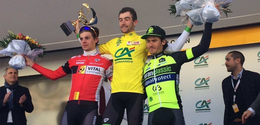 Cyclisme : Le Normand Anthony Delaplace (Fortuneo-Vital Concept) remporte le Tour de Normandie 2017