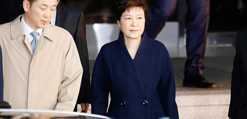 Corée du Sud: l'arrestation de l'ex-présidente demandée