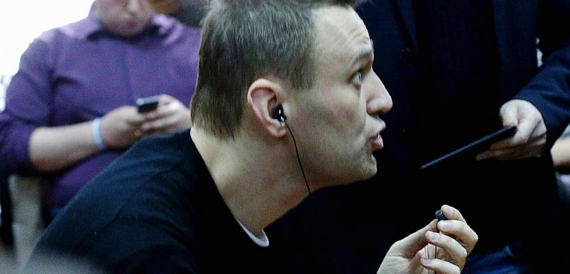 Manifestations en Russie: l'opposant Navalny condamné à 15 jours de prison