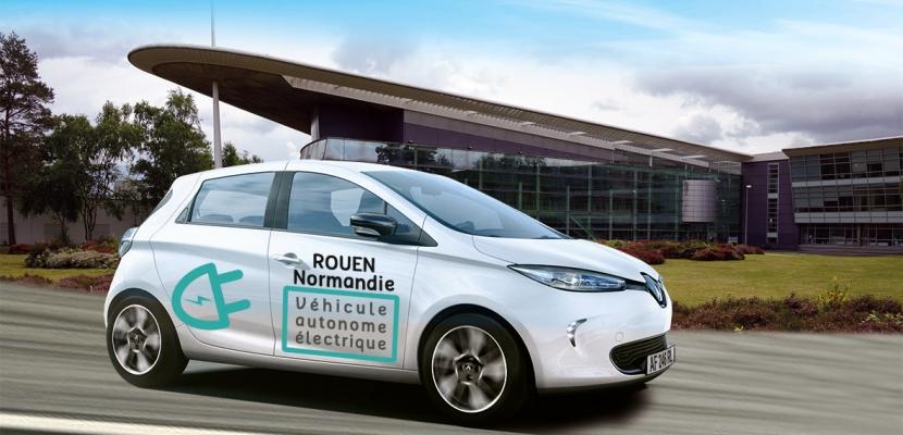 Rouen sera la première métropole d'Europe à expérimenter la voiture sans chauffeur