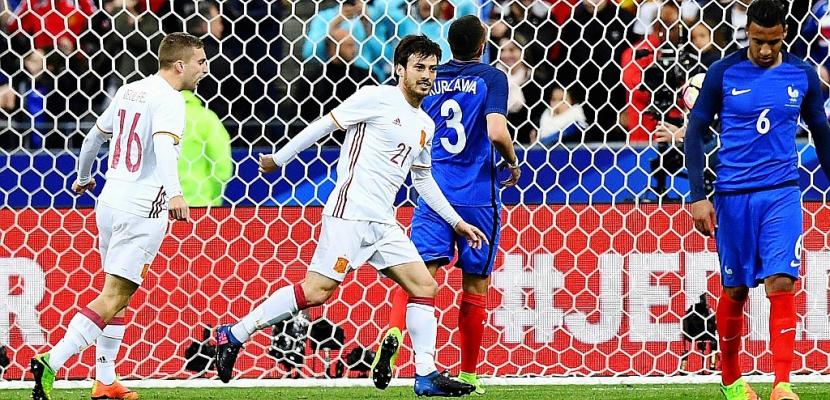 Amical France-Espagne: la Roja bat les Bleus 2-0