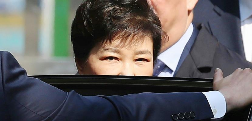 Corée du Sud : arrestation de l'ex-présidente Park Geun-Hye