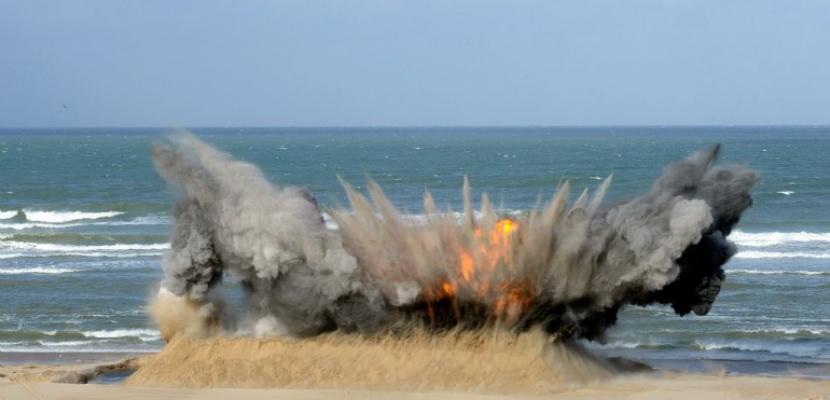 Manche : quatreopérations de neutralisation d'engins explosifs