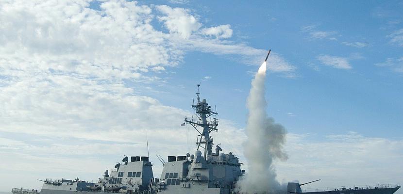 """Attaque """"chimique"""": les Etats-Unis frappent la Syrie"""