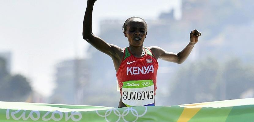 Dopage: le Kenya rattrapé avec le contrôle positif de la championne olympique de marathon