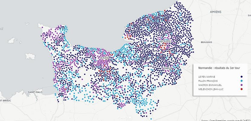 Présidentielle : les résultats en Normandie