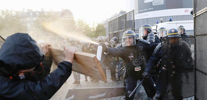 29 gardes à vue et 9 blessés au lendemain d'une manifestation hostile à l'élection
