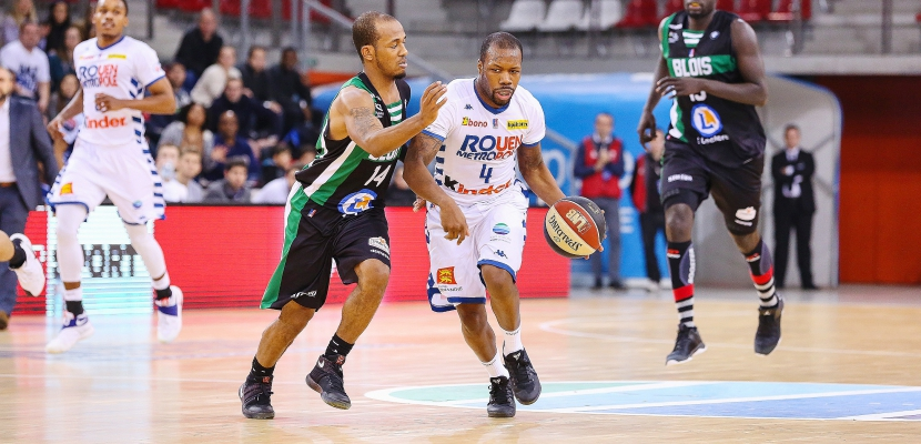 Basket: fin de série pour le Rouen Métropole Basket à Nantes