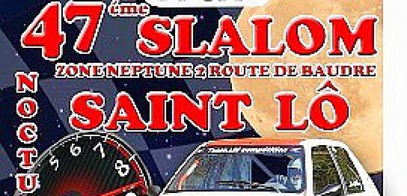 47ème slalom régional de Saint Lô dimanche