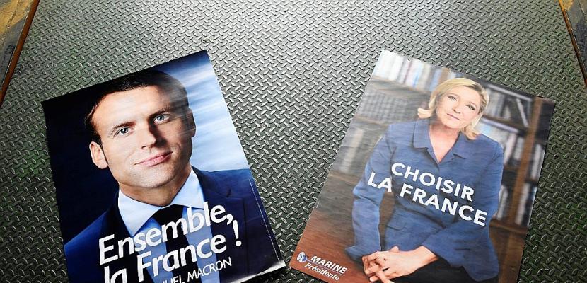 Macron et Le Pen poursuivent leur mano a mano