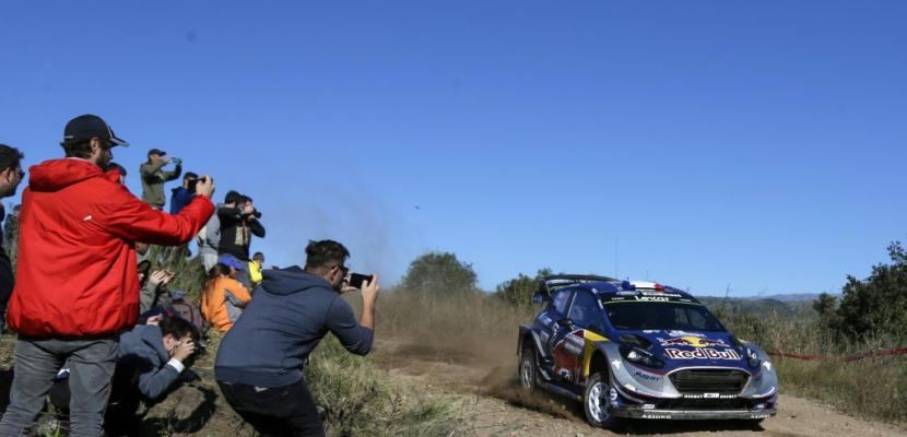 Rallye d'Argentine: Ogier remporte la première spéciale