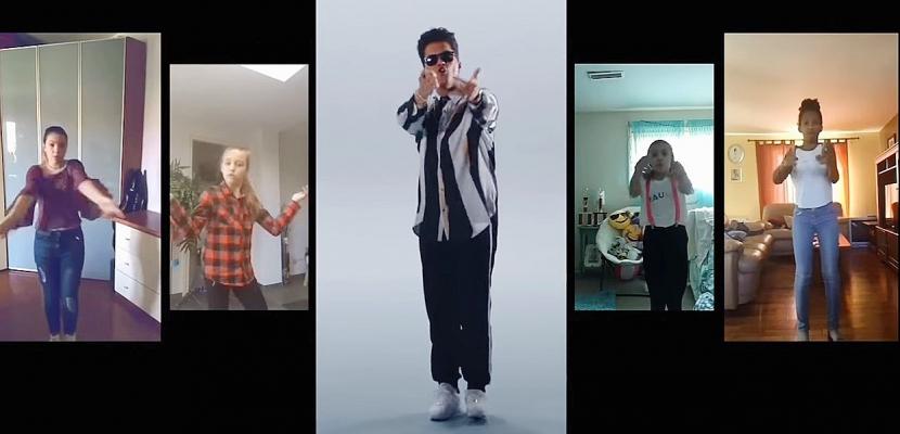 Bruno Mars dévoile un clip réalisé par ses fans