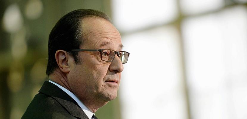 """Hollande: """"Il faut chasser les mauvais vents"""""""